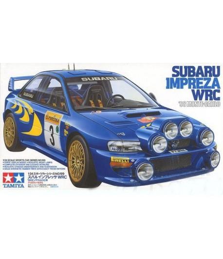 Автомобиль Subaru Impreza WRC 1998 Monte Carlo TAMIYA 24199