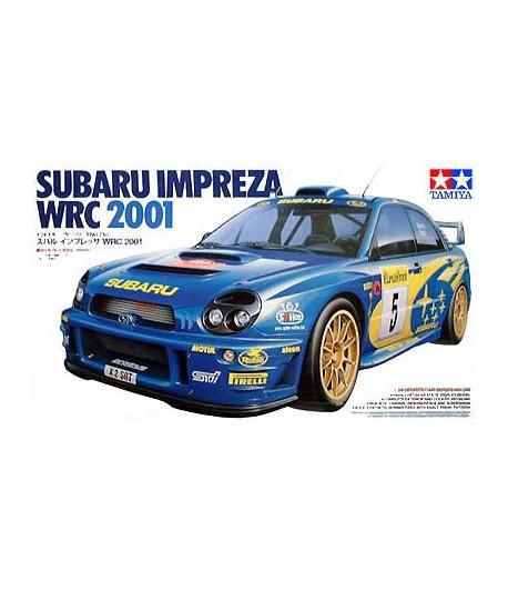 Автомобиль Subaru Impreza WRC 2001 TAMIYA 24240