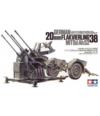 Немецкий 20 мм FLAKVIERLING 38 TAMIYA 35091