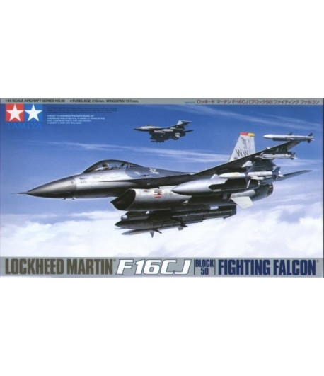 F-16CJ Fighting Falcon (Block 50) TAMIYA 61098