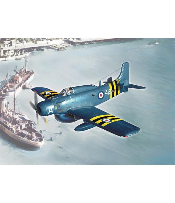 Самолёт AD-4W Skyraider ITALERI 2757