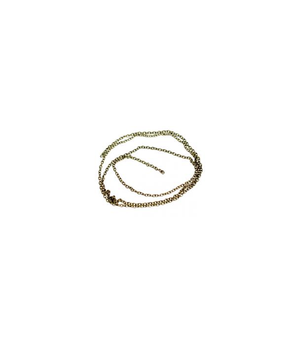 Цепьплетенаяякорная-звено2,0х1,5мм(сталь),длина50смAURORA HOBBYAH6012