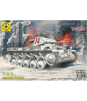 Немецкий танк Т II C МОДЕЛИСТ 303517