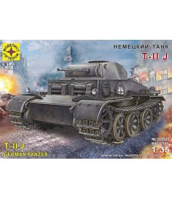 Немецкий танк T-II J МОДЕЛИСТ 303523
