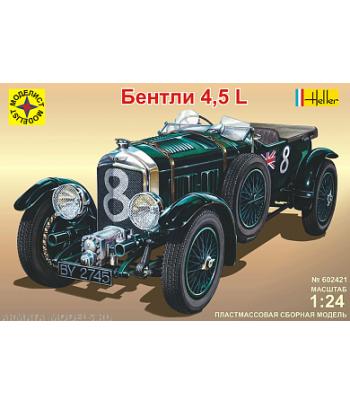 Автомобиль Бентли 4,5L МОДЕЛИСТ 602421