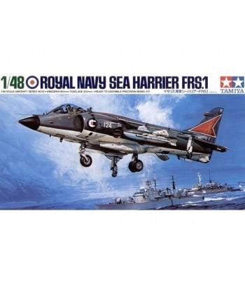 Британский палубный самолёт Royal NAVY Sea Harrier FRS.1 TAMIYA 61026