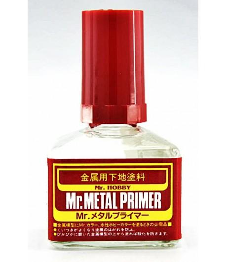 Грунтовка для металла Mr.Metal PRIMER, 40 мл GUNZE SANGYO MP242