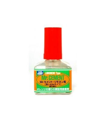 Клей Mr.Cement Limonen (с лимонным запахом) 40мл GUNZE SANGYO GSMC130