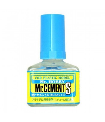 Клей Mr.Cement S (сверхтекучий), 40 мл GUNZE SANGYO GSMC129