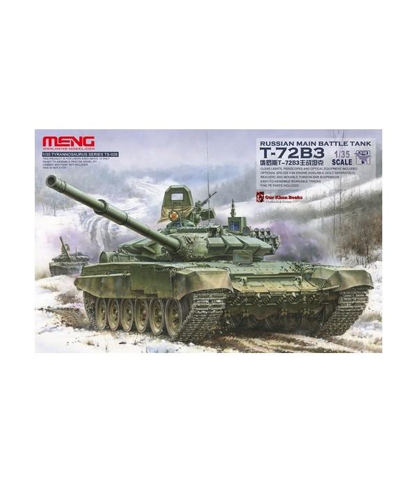 Russian Tank T-72 B3 MENG TS-028