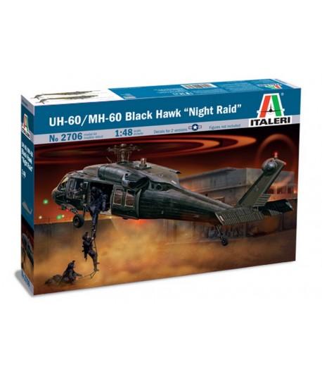 """UH-60 Black Hawk """"Night Raid"""" 1:48 ITALERI 2706"""