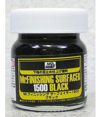 Грунтовка финишная Черная MR.FINISHING SURFACER 1500 BLACK GUNZE SANGYO SF288