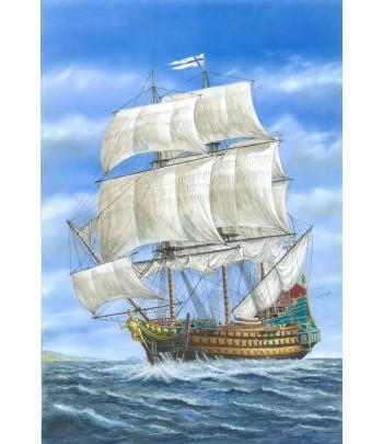 Линейный корабль «Гладиатор» 1:200 МОДЕЛИСТ 120065