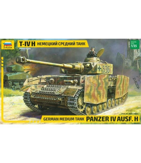 Немецкий танк Т-IV (1:72) МОДЕЛИСТ 307222
