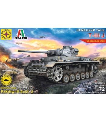 Немеций танк Т-IIIJ (1:72) МОДЕЛИСТ 307225