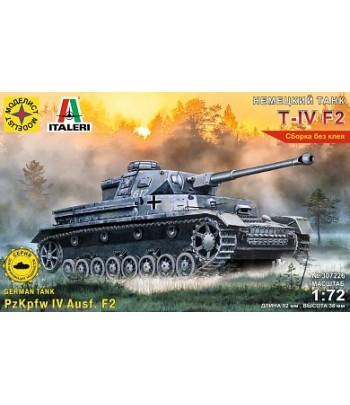 Немеций танк Т-IV F2 (1:72) МОДЕЛИСТ 307226
