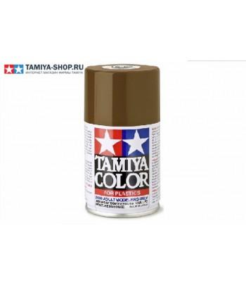 TS-62 NATO Brown (NATO коричневая) краска-спрей 100 мл. TAMIYA 85062