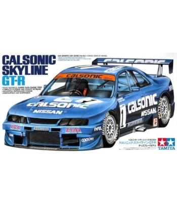 Автомобиль Nissan Calsonic Skyline GT-R (1:24) TAMIYA 24184