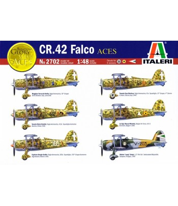CR.42 Falco Aces ITALERI 2702