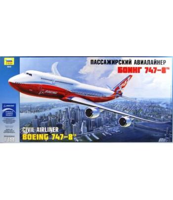 Пассажирский авиалайнер Боинг 747-8 ЗВЕЗДА 7010
