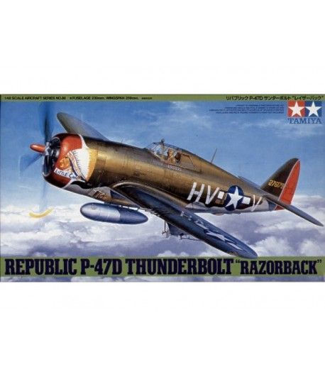 Republic P-47D Thunderbolt Razorback TAMIYA 61086