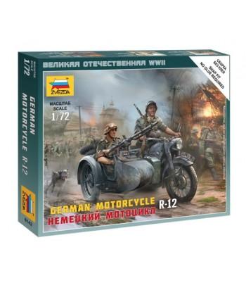 Немецкий мотоцикл R-12 ЗВЕЗДА 6142