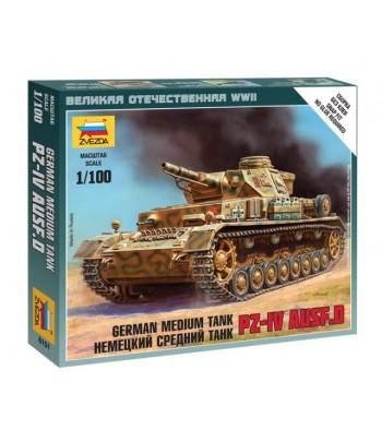 Немецкий средний танк Pz-IV Ausf.D ЗВЕЗДА 6151