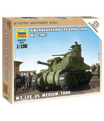 """Американский средний танк M3 """"Lee"""" ЗВЕЗДА 6264"""