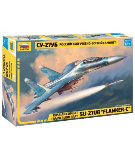 Российский учебно-боевой самолет Су-27УБ ЗВЕЗДА 7294
