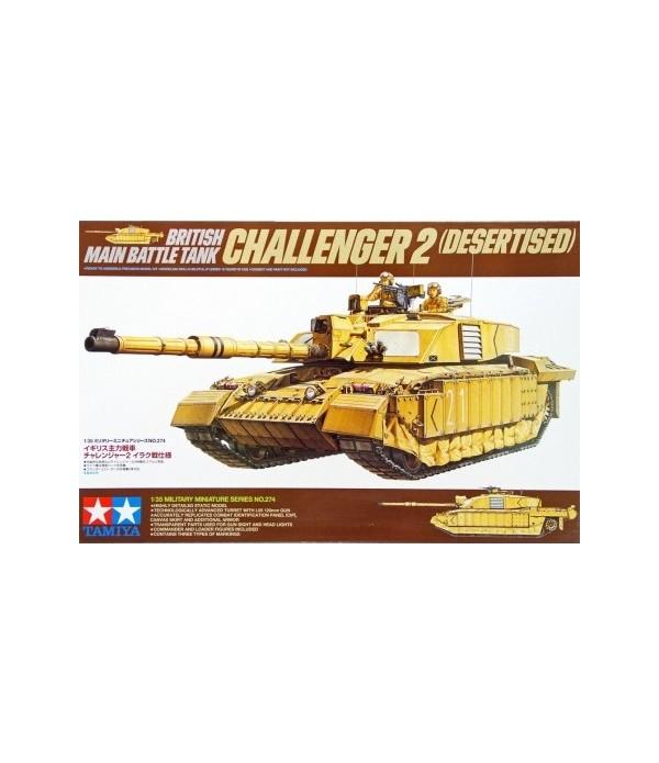 British Challenger II (Desertised) TAMIYA 35274