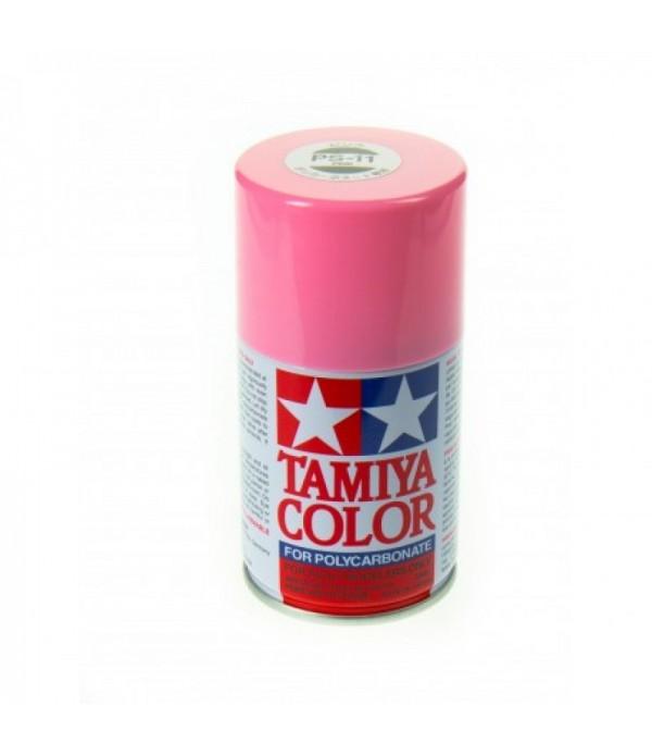 PS-12 Pink (Розовая) краска-спрей для лексана 100 мл. TAMIYA 86011