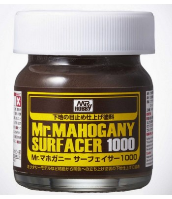 Грунтовка Mr.MAHOGANY SURFACER 1000 40мл SF290 GUNZE SANGYO SF290