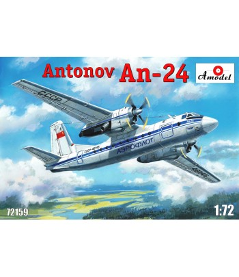 Самолет Ан-24 AMODEL 72159