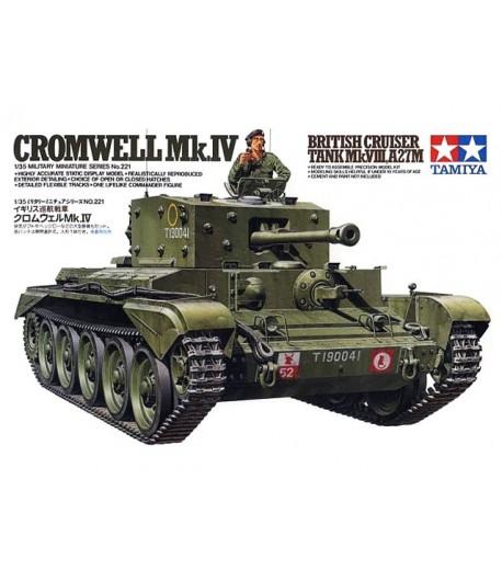 Cromwell Mk.IV British Cruiser Tank A27(Meteor) TAMIYA 35221