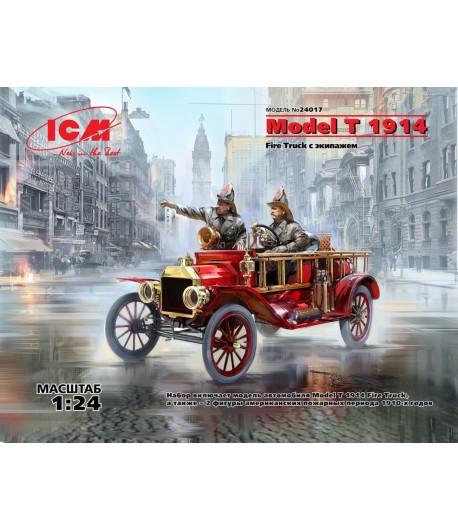 Model T 1914 Fire Truck с экипажем ICM 24017