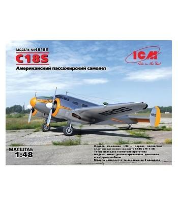 C18S, Американский пассажирский самолет ICM 48185