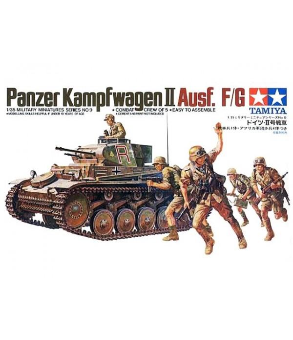 German Pz.Kpfw.II Ausf.F/G TAMIYA 35009