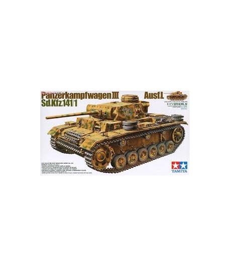 Танк Pz.Kpfw. III Ausf.L TAMIYA 35215