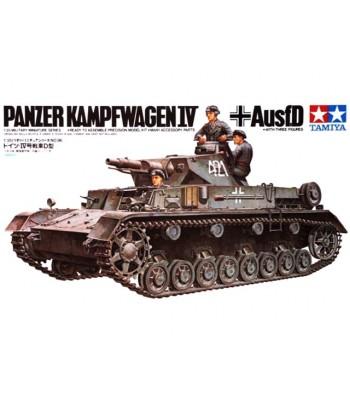 Танк Pzkpw IV Ausf.D (Немецкий танк Т-4 модель D) TAMIYA 35096