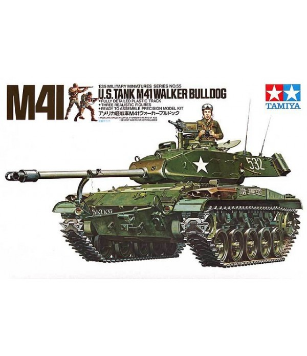 Танк M41 Walker Bulldog TAMIYA 35055