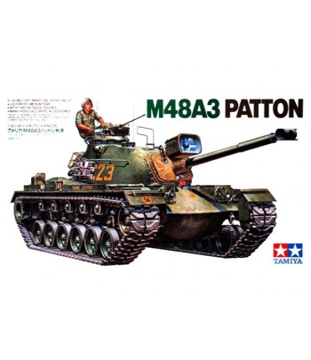 Американский танк M48A3 Patton TAMIYA 35120