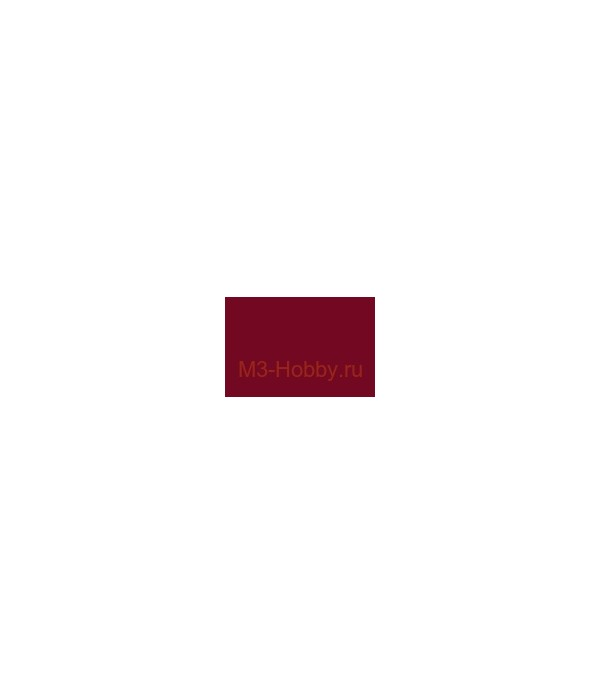 H47 Mr.Hobby Акрил 10мл RED BROWN (красно-коричневый, глянцевый) GUNZE SANGYO