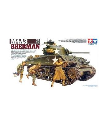 M4A3 Sherman 75mm Gun TAMIYA 35250