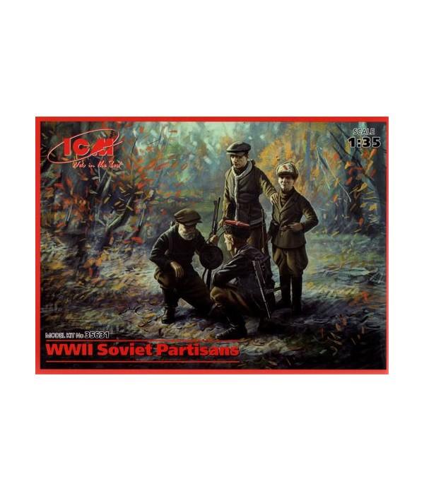 Советские партизаны ICM 35631