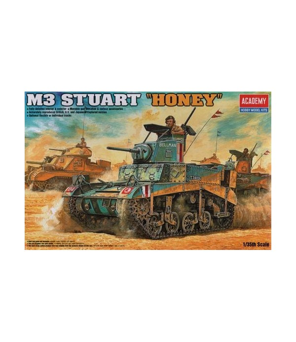 Танк M3 Stuart Honey (1:35) ACADEMY 13270