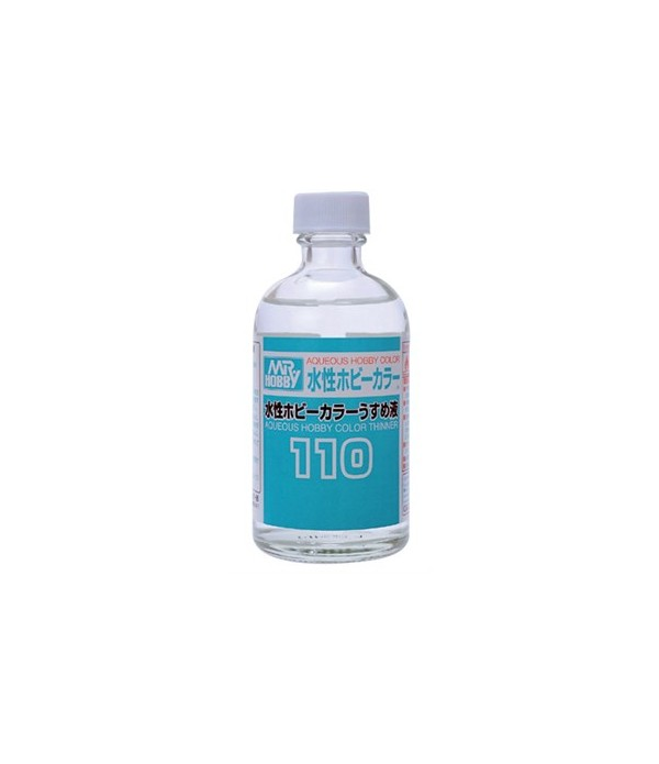 T-110 Разбавитель MR.HOBBY 110мл для водоразбавляемых красок GUNZE SANGYO