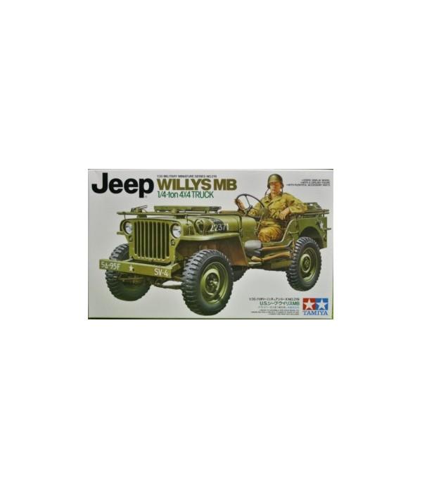 Jeep Willys MB. 1/4-Ton Truck TAMIYA 35219