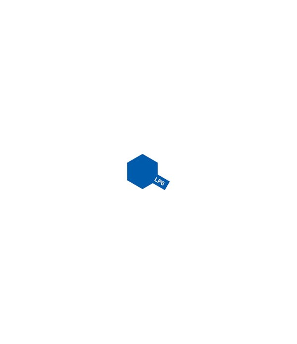 LP-6 Pure Blue (Синяя глянцевая) краска 10 мл. TAMIYA 82106