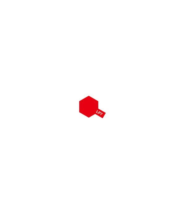 LP-7 Pure Red (Красная глянцевая), 10 мл. TAMIYA 82107