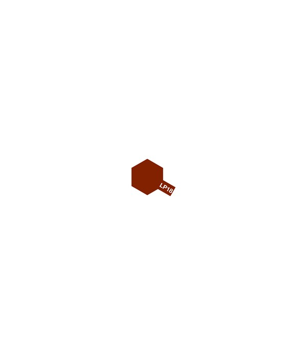 LP-18 Dull Red (тускло красная)10 мл. TAMIYA 82118